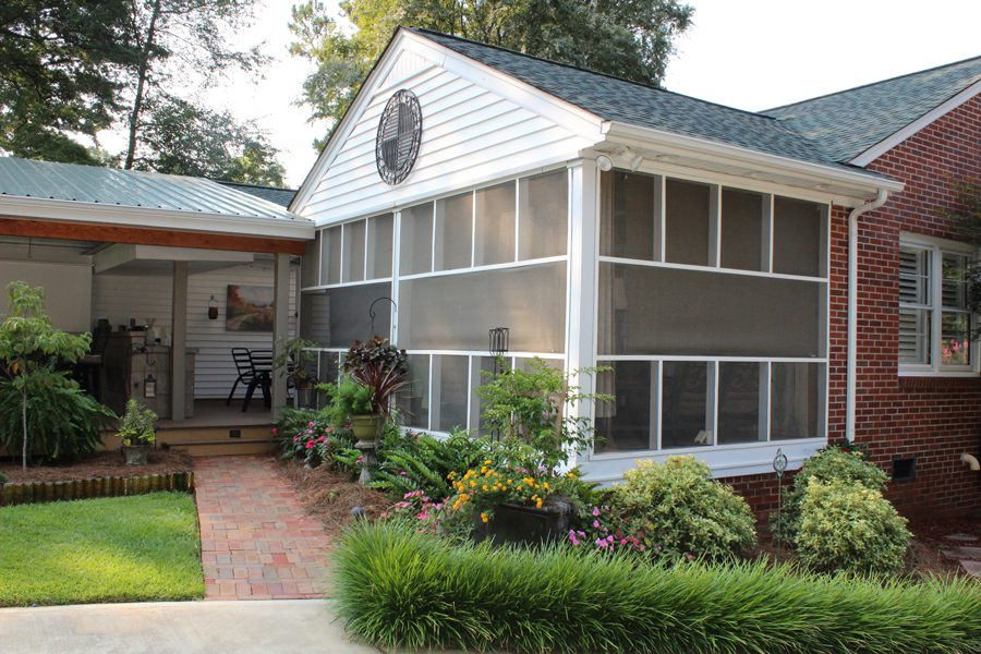 Screened porch addition | Dick Ferrell Contracting Inc.