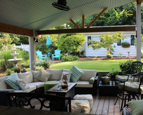Porch remodel | Dick Ferrell Contracting Inc.